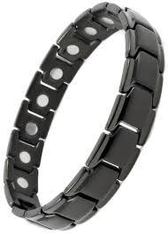 titanium magnetic bracelet black images Elegant titanium magnetic therapy bracelet black smarter jpg