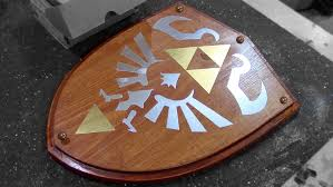 How To Make A Computer Out Of Wood by How To Make Link U0027s Wooden Shield Zelda Youtube