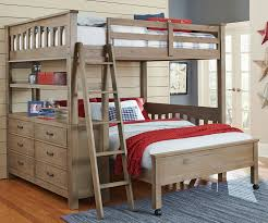 loft bed full size wood enjoy convenience with loft bed full