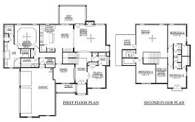 5 bedroom house floor plans innovative ideas 5 bedroom house plans 2 story 4 aloin info home