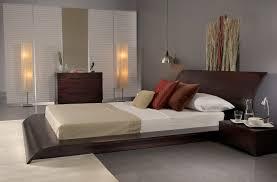 Japanese Low Bed Frame Nightstands Discount Bedroom Furniture Modern Platform Bed
