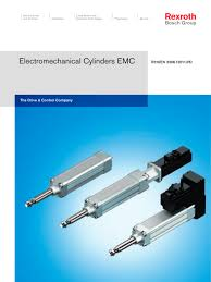 electromechanical cylinder emc rexroth linear motion pdf