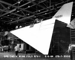 aircraft design why did the xb 70 have folding wingtips