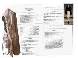 Resume For Fashion Designer Job Fashion Example Cv Cvs Pinterest Cv Examples Creative Cv