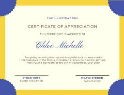 attendance certificate templates canva
