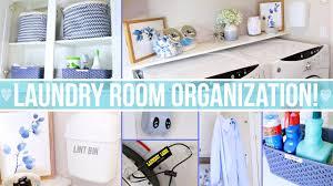 laundry room organization ideas youtube