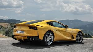 ferrari yellow and black ferrari 812 superfast 2017 review by car magazine
