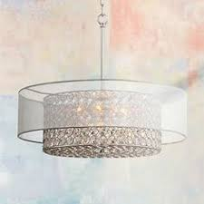 Double Drum Shade Chandelier Drum Shade Lighting From Lowes Laundry Room Ideas Pinterest