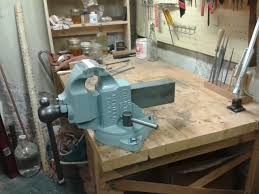 Woodworking Bench Vise Installation by Bench Vise Rehab Plane Shavings Blog