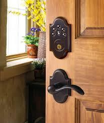 Entry Door Locksets Baldwin Keyless Entry Deadbolt Door Locks Ce Pro