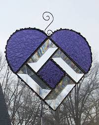2632 best stained glass hearts images on stained glass