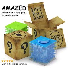 amazed money maze unique way to give gifts for special
