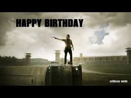 Walking Dead Happy Birthday Meme - happy birthday the walking dead version youtube