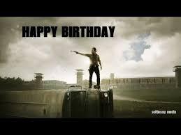 Walking Dead Birthday Meme - happy birthday the walking dead version youtube