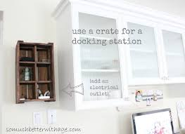 Kitchen Desk Cabinets Add An Office To Your Kitchen So Much Better With Age