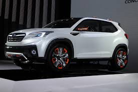 grey subaru crosstrek 2017 subaru viziv future concept previews next gen xv crosstrek tech