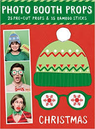 Christmas Photo Booth Props Amazon In Buy Holiday Photobooth Props Book Online At Low Prices