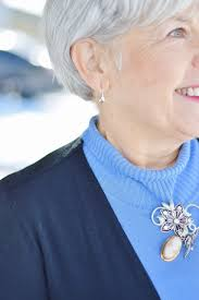 brooches near your neck
