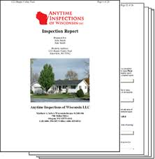 roof inspection report template wisconsin home inspection report sles