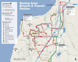 Transit Maps Of The World by Going To Boeing Everett Everett Transit Wa Official Website