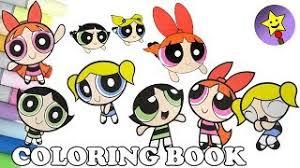 download lagu powerpuff girls coloring book compilation buttercup