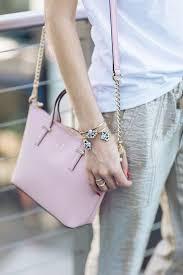 light pink kate spade bag pin by m loves m on for the bag lady pinterest bracelets bag