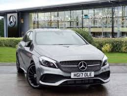 grey mercedes a class used mercedes a class amg line grey cars for sale motors co uk