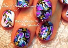 diy flower design flower nail art for short nails tutorial youtube