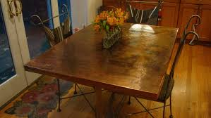 Kitchen Table Top Ideas by Imagine Copper Kitchen Table Top