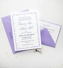 lavender wedding invitations vintage lavender wedding invitations