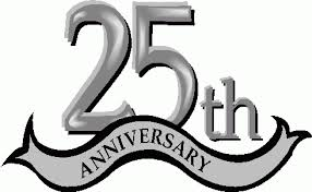 25 wedding anniversary 25 wedding anniversary cliparts free clip free
