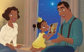 reading tiana princess u0026 frog story book disney princess