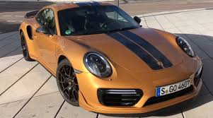 porsche 911 orange how fast is the porsche 911 turbo s exclusive series