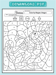 polar bear color colouring pages 3 dragon color number