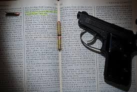 the strange affair between christians and guns