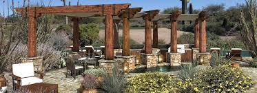 Outdoor Spaces Design - amphitheater outdoor timber structure custom pergola design