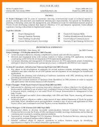 Crisis Management Resume 8 Program Manager Resume Mla Cover Page