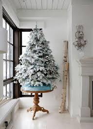 small white christmas tree 25 fantastic white christmas decoration ideas