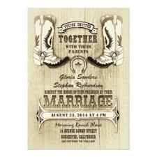 western wedding cowboy wedding invitations announcements zazzle