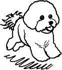 bichon frise cartoon bichon frise cartoon this captures the personality of the breed