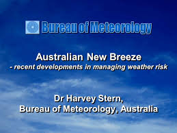 meteorology bureau australia australian recent developments in managing weather risk