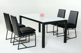 large glass top dining table dining table glass top dining table set chairs rectangular metal