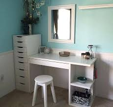 makeup vanity table with drawers terrific vanity desk with drawers bling game vanity desk with 7