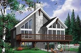 Hillside Walkout Basement House Plans Sloping And Hillside Designs From Drummondhouseplans Com