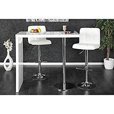 Glass Breakfast Bar Table Neofurn Duo Design Bar Table White High Gloss Kitchen