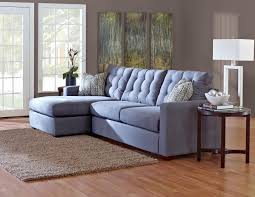 Klaussner Bedroom Set Contemporary Sectional Sofa With Left Facing Chaise Lounge By