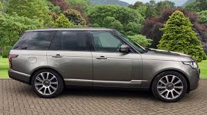 land rover silver used land rover range rover vogue tdv6 silver fh17ylg