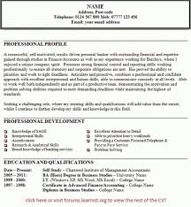 Example Of Personal Statement For Resume by Personal Statement On Resume U2013 Resume Examples