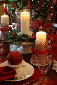 christmas dinner table centerpieces christmas dining table decorating ilashome