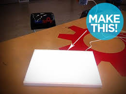 how to make a photo light box ikea hack how to make a diy lightbox for tracing on the cheap man